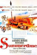 Summertime (1955) afişi
