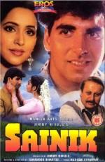Sainik (1993) afişi