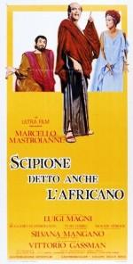 Scipione detto anche l'africano (1971) afişi