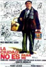 şehir Benim Için Değil (1966) afişi