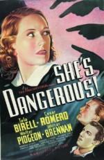 She's Dangerous (1937) afişi