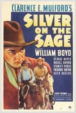 Silver On The Sage (1939) afişi