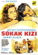 Sokak Kızı (1966) afişi
