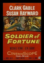 Soldier of Fortune (1955) afişi