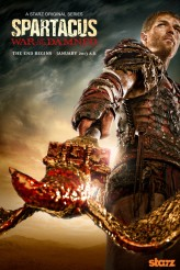 Spartacus: War of the Damned (2013) afişi