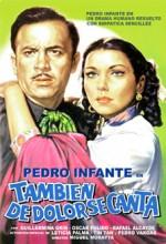 También De Dolor Se Canta (1950) afişi