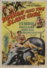Tarzan And The Slave Girl (1950) afişi
