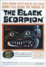The Black Scorpion (1957) afişi