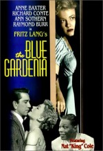 The Blue Gardenia (1953) afişi