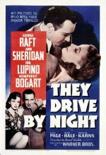 The Drive By Night (1940) afişi