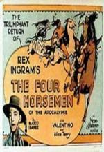 The Four Horsemen Of The Apocalypse (1921) afişi