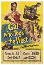 The Gal Who Took The West (1949) afişi