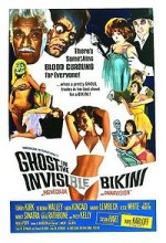 The Ghost in The Invisible Bikini (1966) afişi