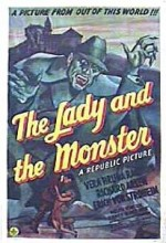 The Lady And The Monster (1944) afişi