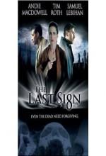 The Last Sign (2005) afişi