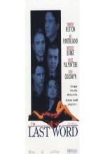 The Last Word (ıı) (1995) afişi
