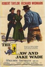 The Law And Jake Wade (1958) afişi
