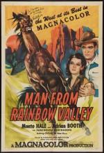 The Man From Rainbow Valley (1946) afişi
