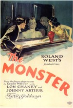 The Monster (1925) afişi
