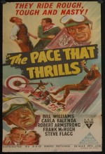 The Pace That Thrills (1952) afişi