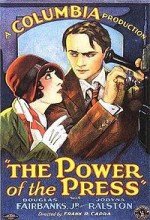 The Power Of The Press (1928) afişi