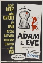 The Private Lives Of Adam And Eve (1960) afişi