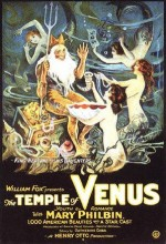 The Temple Of Venus (1923) afişi