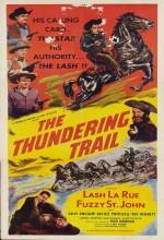 The Thundering Trail (1951) afişi