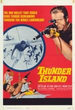 Thunder ısland (1963) afişi
