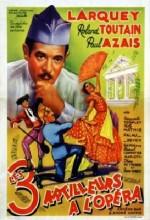 Trois Artilleurs à L'opéra (1938) afişi