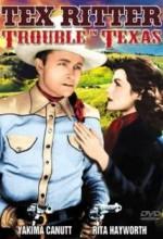 Trouble In Texas (1937) afişi