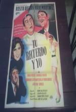 Tu Recuerdo Y Yo (1953) afişi