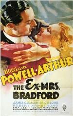 The Ex-Mrs. Bradford (1936) afişi