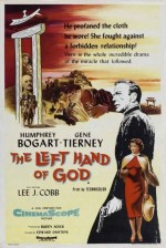 The Left Hand of God (1955) afişi