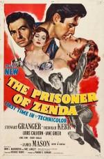 The Prisoner Of Zenda (1952) afişi