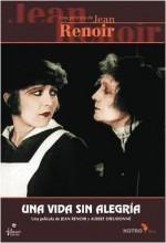 Une Vie Sans Joie (1924) afişi
