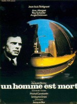 Un Homme Est Mort (1972) afişi