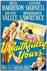 Unfaithfully Yours (1948) afişi