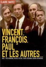 Vincent, François, Paul... Et Les Autres (1974) afişi