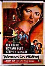 Woman In Hiding (1950) afişi