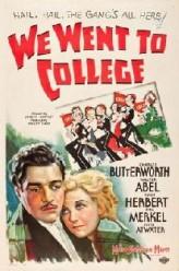 We Went To College (1936) afişi