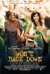 Won't Back Down (2012) afişi