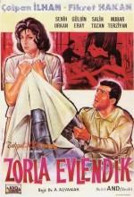 Zorla Evlendik (1962) afişi