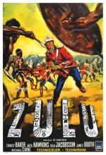 Zulu (1964) afişi
