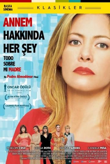 Annem Hakkında Her Şey (1999) afişi