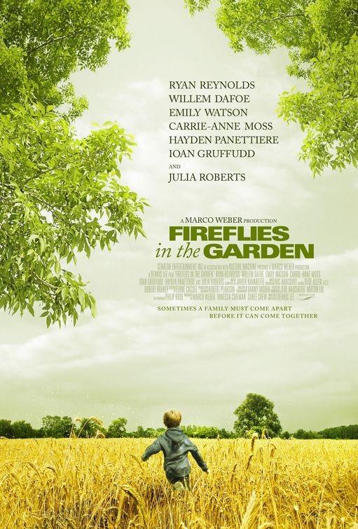 Bahçemdeki Ateş Böcekleri (2008) afişi