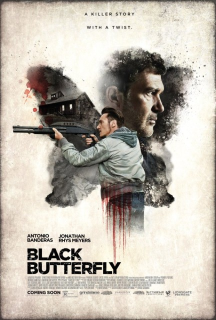Black Butterfly (2017) afişi