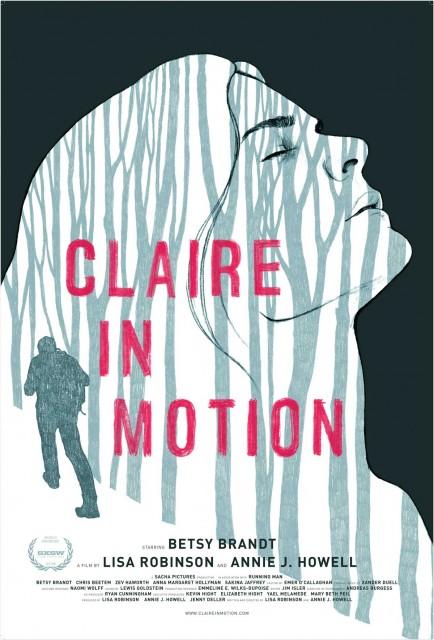 Claire in Motion (2016) afişi