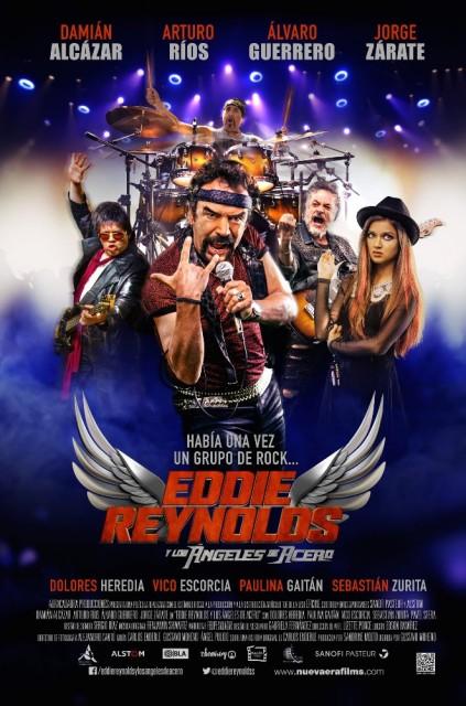 Eddie Reynolds y Los Ángeles de Acero (2014) afişi