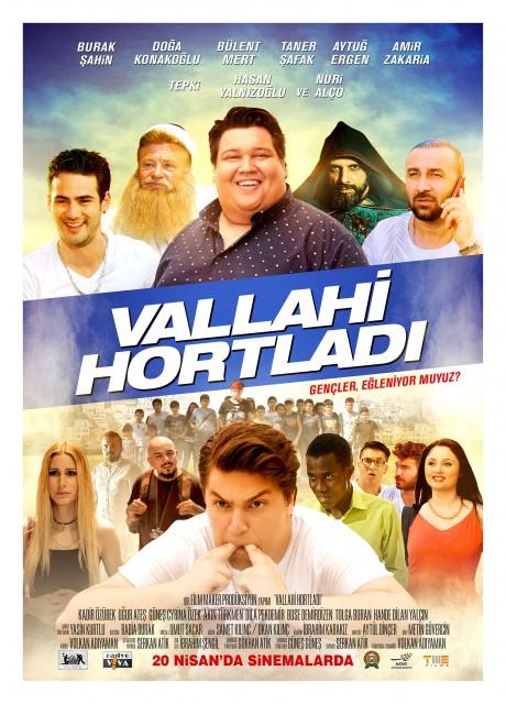 Vallahi Hortladı afiş ile ilgili görsel sonucu